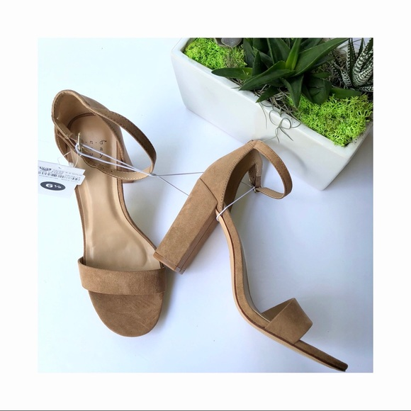 94ec2a23a6 a new day Shoes | Womens Ema High Block Heel Pumps Taupe | Poshmark